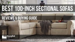 100 inch sectional sofas