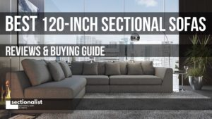 120 inch sectional sofas