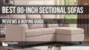 80 inch sectional sofas