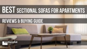 best apartment sectionals