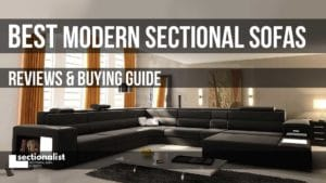 best modern sectional sofas