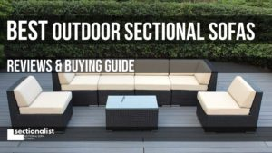 best outdoor sectionals