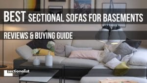 best sectional for basement