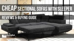 cheap sectional sleeper sofas