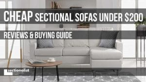 cheap sectionals under 200