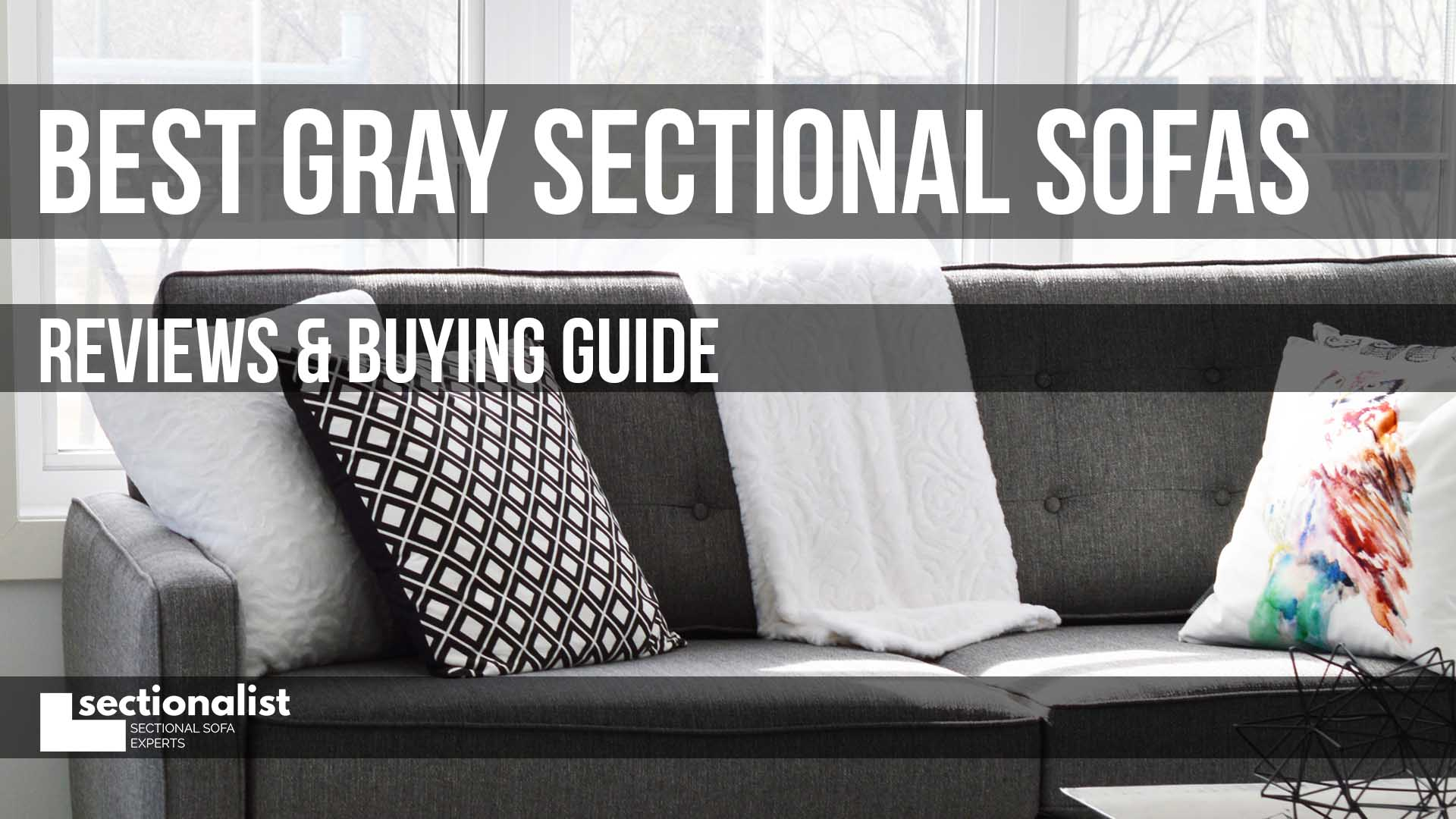 Picture of: Best Gray Sectional Sofas 2020 Reviews Buying Guide Sectionalist