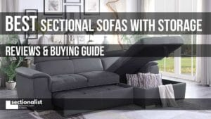 sectionals with storage